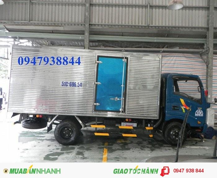 Xe Tải Veam VT200 2 tấn đi thành phố