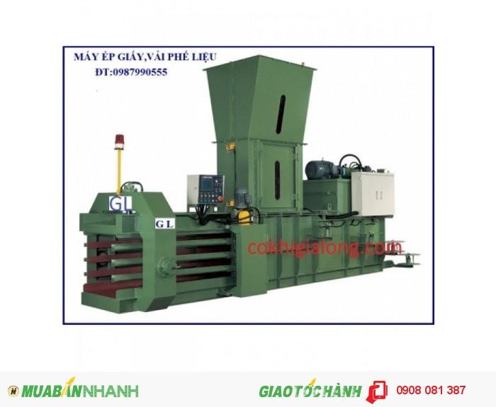 Máy ép phế liệu cơ khí gia long4