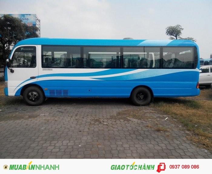 Xe được nhập khẩu 100% linh kiện chính hãng từ hyundai Hàn Quốc 1
