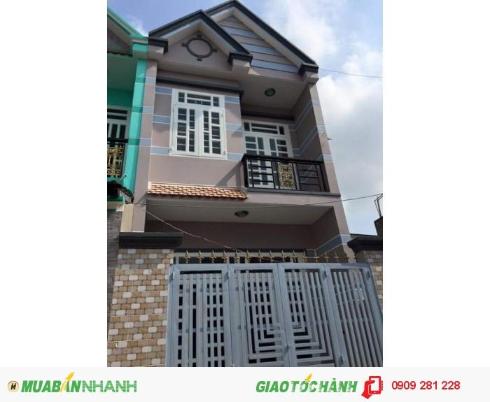 Bán nhà hai mặt tiền gần ngã 5 Nguyễn Thị Tú 52m2 giá 790 triệu