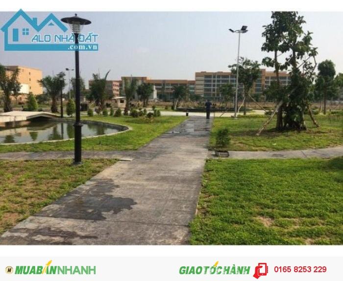 Dự án trung tâm thị xã Lái Thiêu đã có sổ đỏ riêng từng lô và GPXD