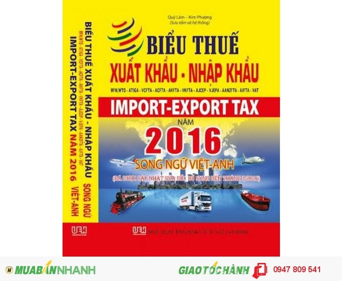 Biểu Thuế 2016 -  Biểu Thuế Xuất Nhập Khẩu 2016, 1