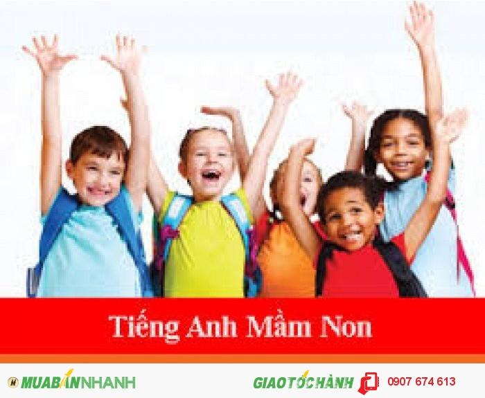 Chương trình tiếng Anh mầm mon cho trẻ tiếp cận sớm với ngoai ngữ tiếng Anh