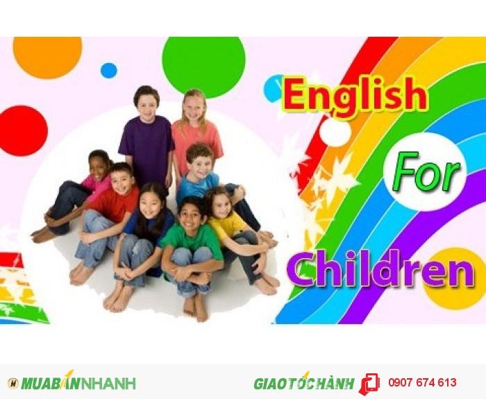 Tiếng Anh cho trẻ em - English for Children | Trẻ học tiếng Anh càng sớm càng tiếp thu nhanh chóng