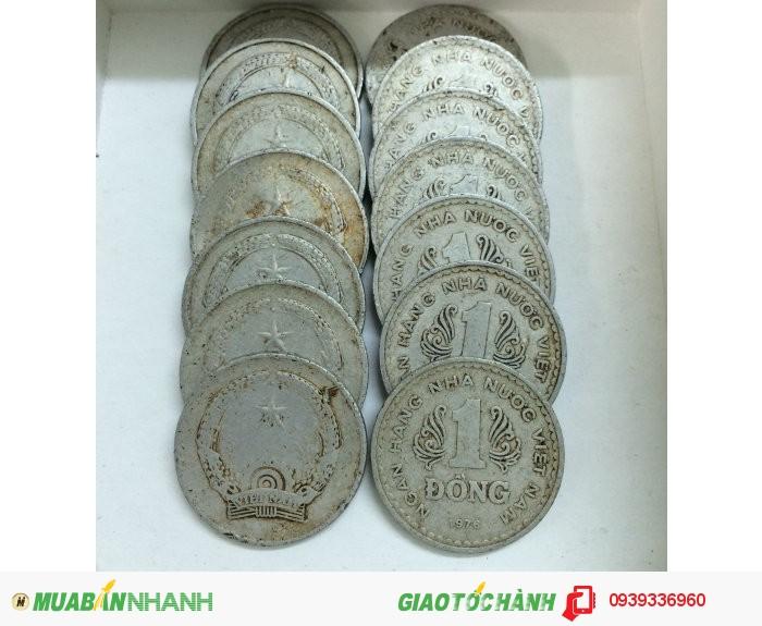 Bán đồng xu 1 đồng Việt Nam 1976