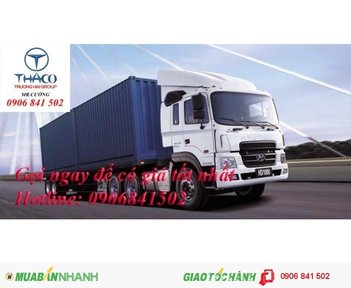 Hyundai HD1000 sản xuất năm 2016 Số tay (số sàn) Xe tải động cơ Dầu diesel