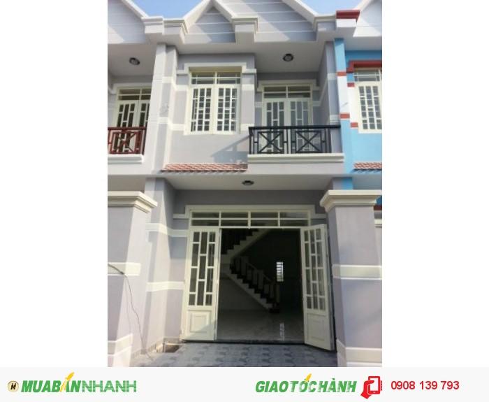 Nhà Phố 1 Lầu ngay trung tâm ngã 5 Nguyễn Thị Tú