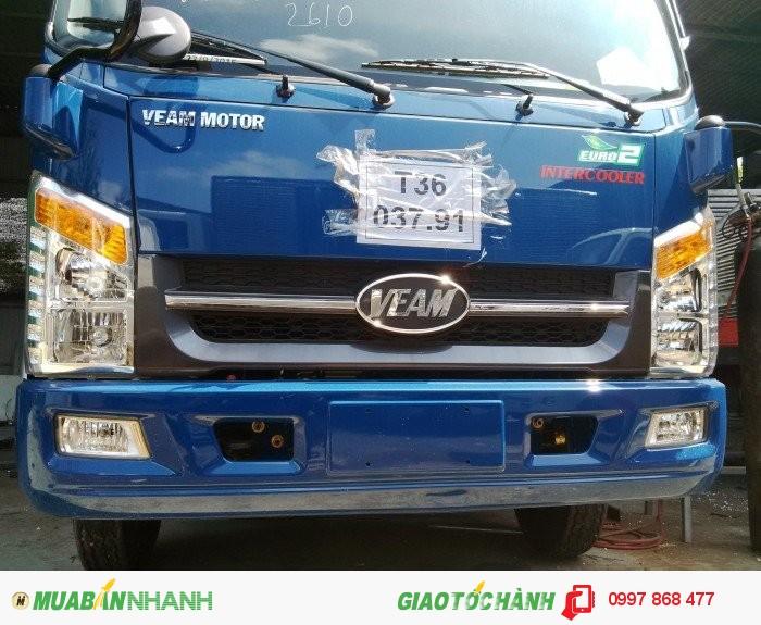 Xe tải 2 tấn vô thành phố thùng dài 4m4 máy Hyundai