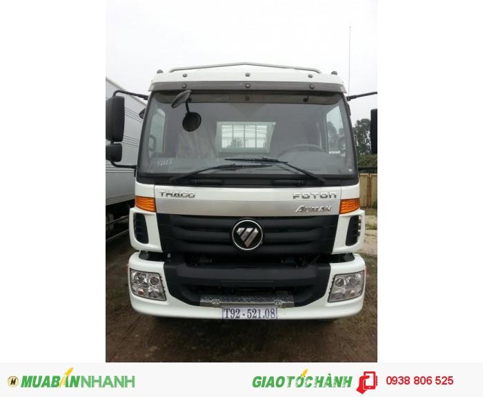 Xe tải thùng 3 chân THACO C1500 tải trọng 14,8 tấn