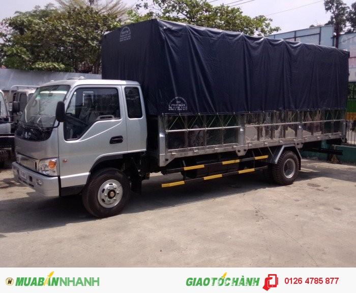 JAC Tải trung sản xuất năm  Số tay (số sàn) Xe tải động cơ Xăng