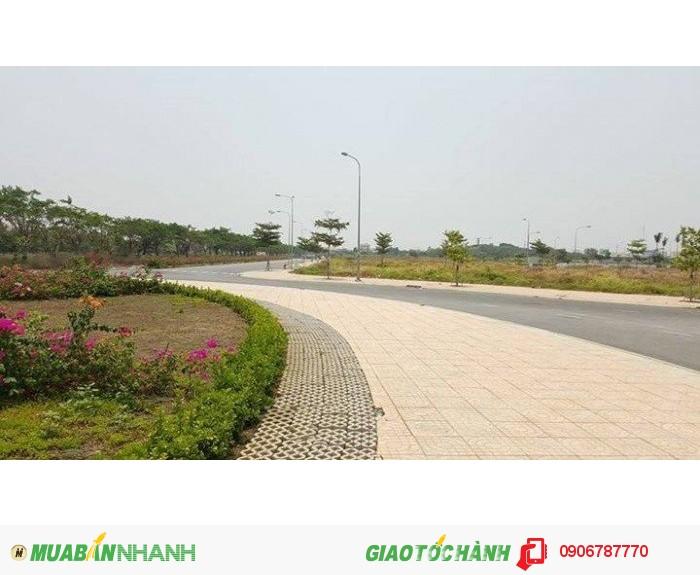 Đất Xây Biệt Thự huyện Bình Chánh , MT đường 60M, ngay vòng xoay, Sổ Hồng riêng