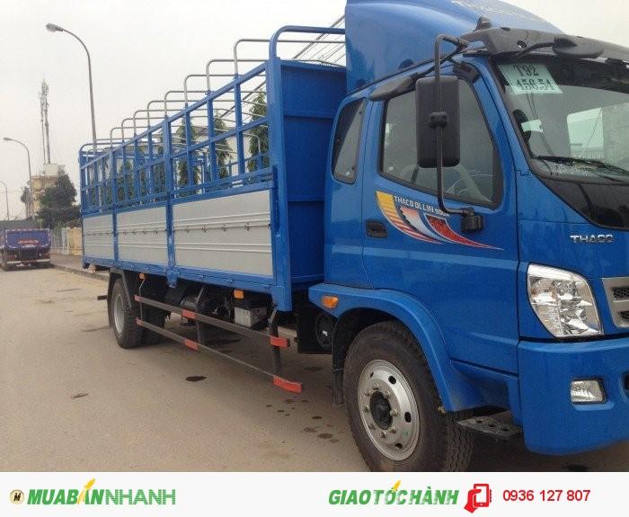 Bán xe tải hai chân 9 tấn Trường Hải, xe tải Thaco Ollin 900A tải trọng 9 tấn đời 2016.