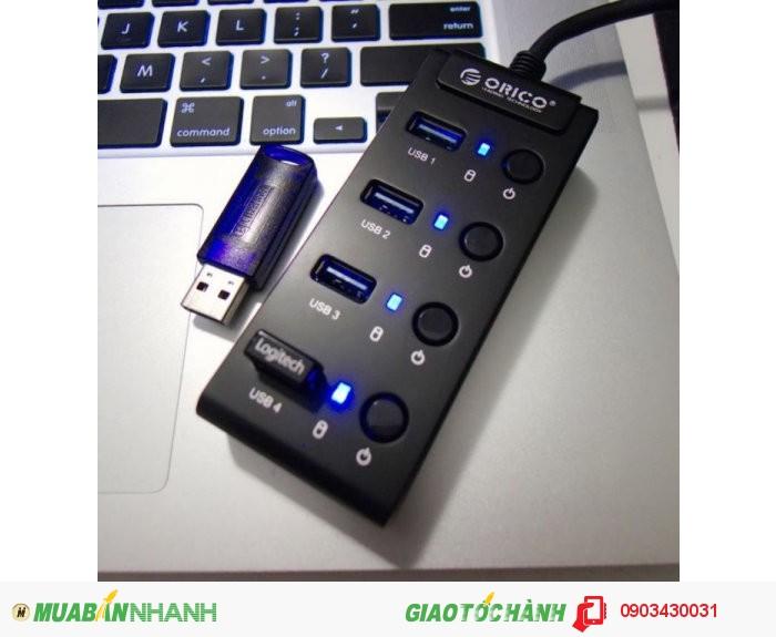 HUB 4 CỔNG USB 3.0 ORICO W9PH4
