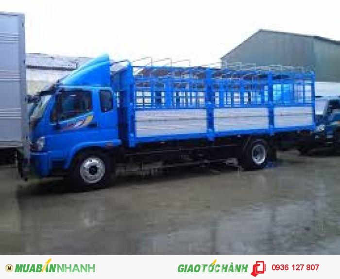 Bán xe tải Trường Hải 8 tấn, Thaco Ollin 800A tải trọng 8 tấn đời 2016. Bán xe tải Thaco Ollin 800A thùng lửng 8 tấn, Ollin 800A thùng mui bạt 8 tấn,