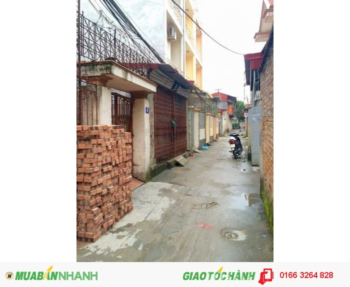 Nhà cấp 4- 75m2- Tây Nam ngõ 213 Thiên Lôi, oto đỗ cửa, giá chỉ: 900 triệu có TL