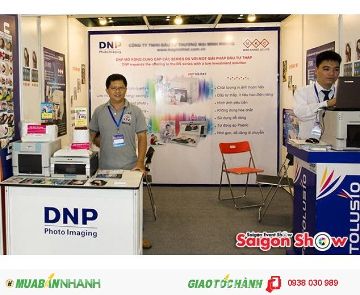 đại lý máy in dnp SaigonShow
