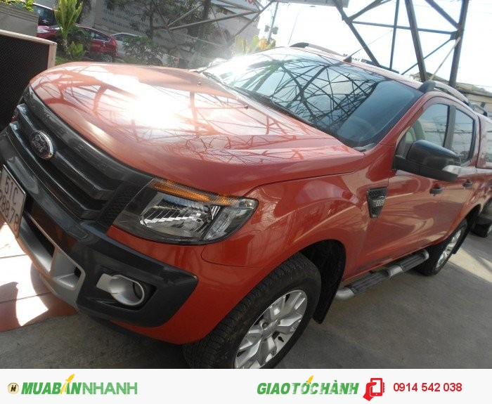 Bán Ford Ranger Wiltrack sx 2013 màu cam canopy 1