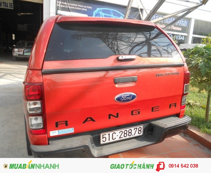 Bán Ford Ranger Wiltrack sx 2013 màu cam canopy 3
