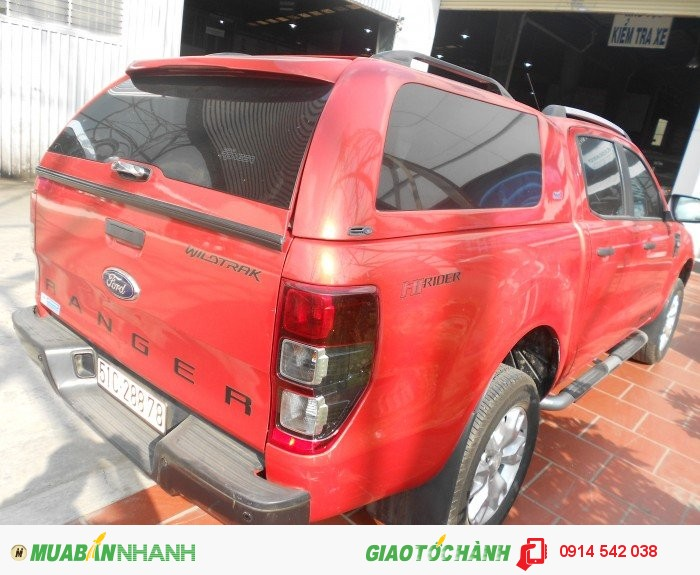 Bán Ford Ranger Wiltrack sx 2013 màu cam canopy 4