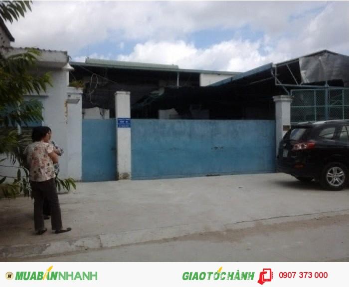 Bán nhà xưởng tại phường Thạnh Lộc, Q12, HCM