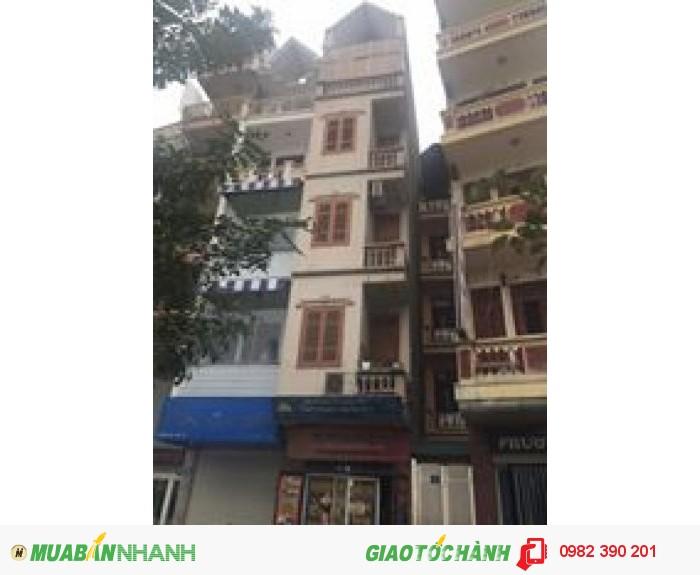 Nhà mặt phố trích sài DT 30m2, nhà xây 5 tầng còn mới vuông vẵn,  nội thất cao cấp