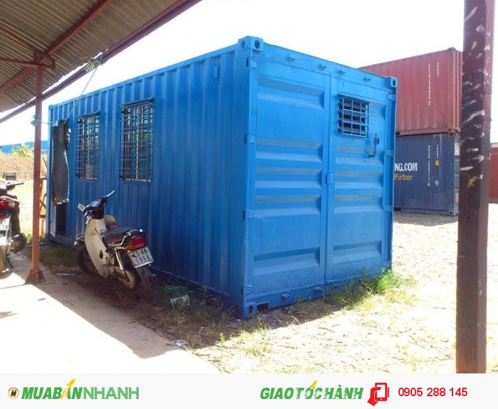 Sản xuất, cho thuê Container rỗng