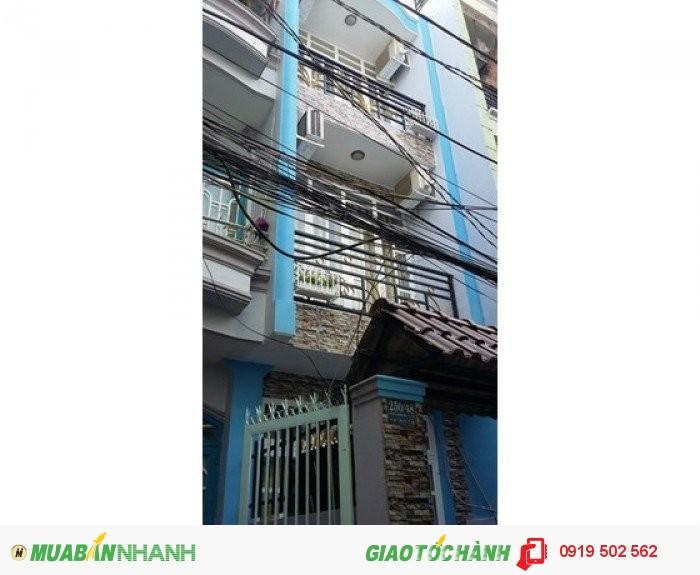 Nhà mặt tiền đường Phan Văn Khỏe, P5, Quận 6, DT 3.5X17. Giá 5.5 tỷ