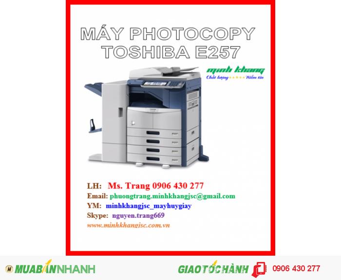 Bán máy photocopy Toshiba E-Studio 257, Máy photocopy Toshiba e-Studio257 giá rẻ1