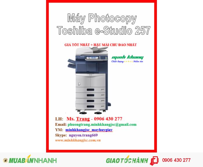 Bán máy photocopy Toshiba E-Studio 257, Máy photocopy Toshiba e-Studio257 giá rẻ2