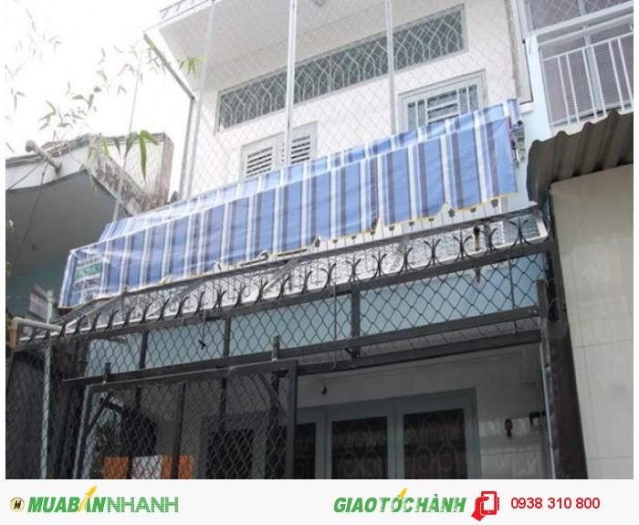 Bán nhà Nguyễn Đình Chiểu, P.2, Q.3, Dt 3.7x12m, hướng Đông Bắc, giá 3.15 tỷ/TL