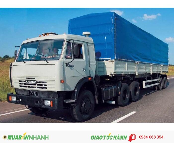 Xe Tải Đầu kéo Kamaz 6460 (6x4) 2 cầu Trả góp Lãi Suất thấp Giao Xe Toàn Quốc 2
