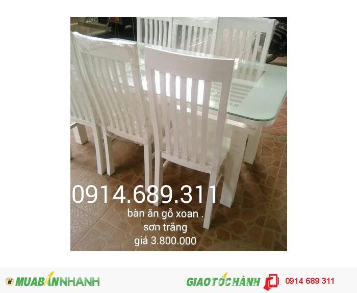 bàn ghế ăn gỗ xoan2