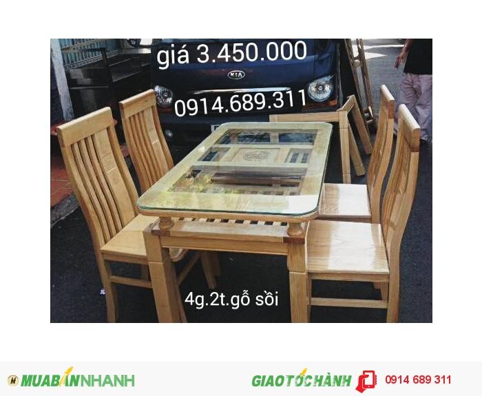 bàn ghế ăn gỗ xoan4
