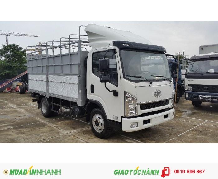 Xe tải faw 6t2 thùng mui bạt