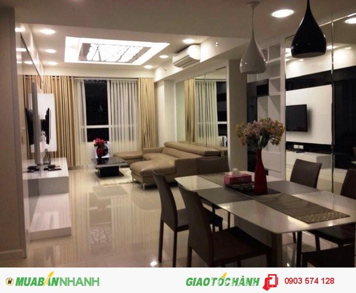 Cho thuê Sunrisecity Q7, tháp V5, 3 phòng ngủ, full nội thất, giá 1500USD