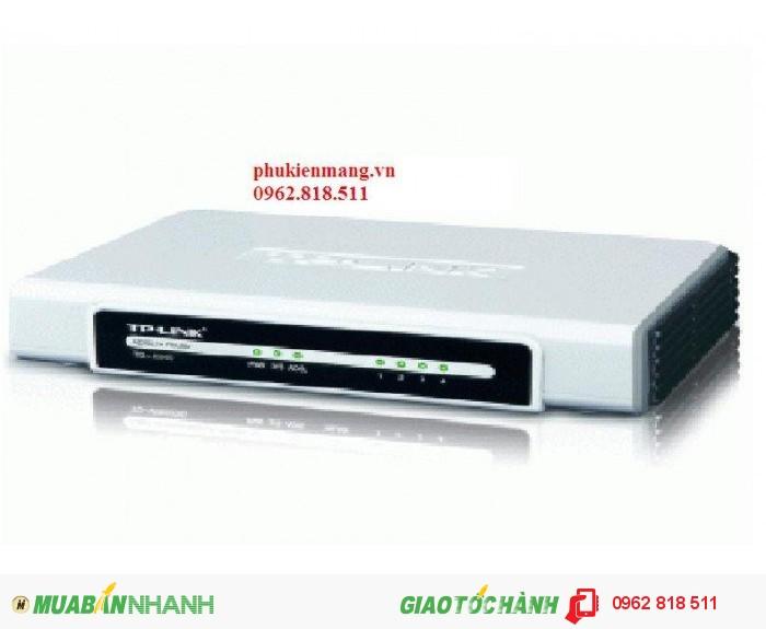 Modem TPLink TD-8840T , ADSL – 4 Port Lan. Giá rẻ nhất thị trường0