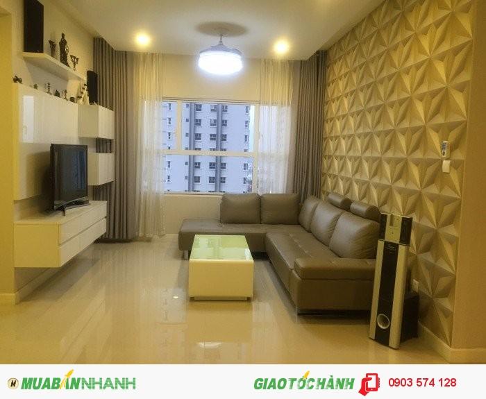 Cho thuê Sunrisecity Q7, tháp W3, 2 phòng ngủ, full nội thất, giá 1200USD