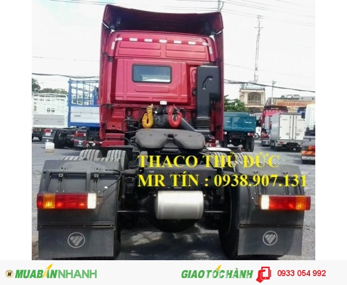 Xe đầu kéo Thaco Auman FV375 máy điện nhập khẩu nguyên chiếc