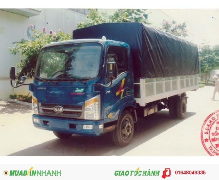 Xe tải veam, xe tải vt260 1.9T, xe tải giá rẻ