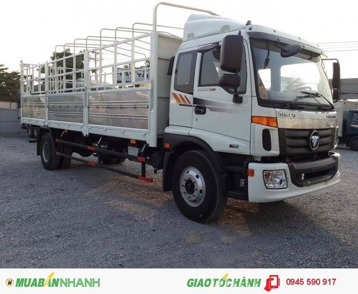 Xe tải Auman C160 2 giò 9 tấn, máy cummin 0