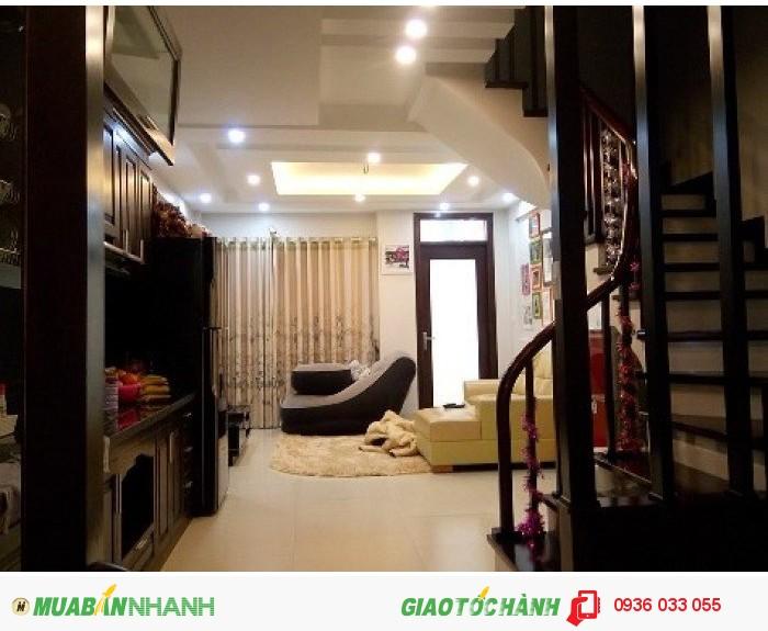 Bán nhà riêng phố Nhuệ Giang, Hà Đông, 45m2 x 5 tầng, đường 6m, thiết kế hiện đại