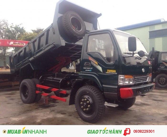 Xe tải ben chiến thắng 6,2 tấn 2 cầu trả góp giá rẻ