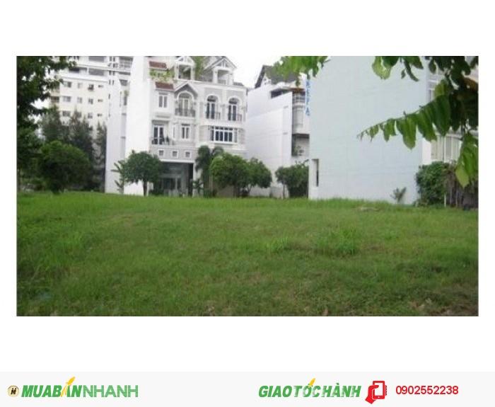 Bán gấp lô đất biệt thự Nam Thông 3,Phú mỹ hưng,quận 7