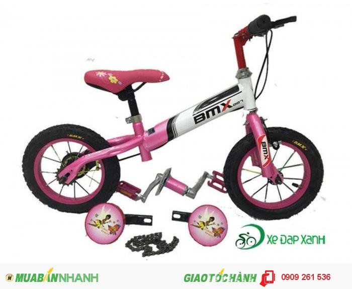 Xe đạp cân bằng BMX 2 trong 1 màu Hồng