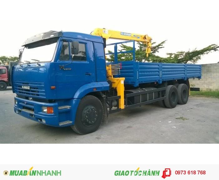 Bán xe tải cẩu Kamaz 65117 Gắn cẩu 5 tấn, 7 tấn, 8 tấn 2016 3
