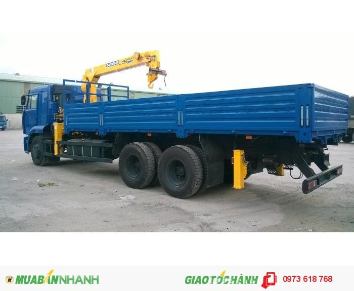 Bán xe tải cẩu Kamaz 65117 Gắn cẩu 5 tấn, 7 tấn, 8 tấn 2016 4