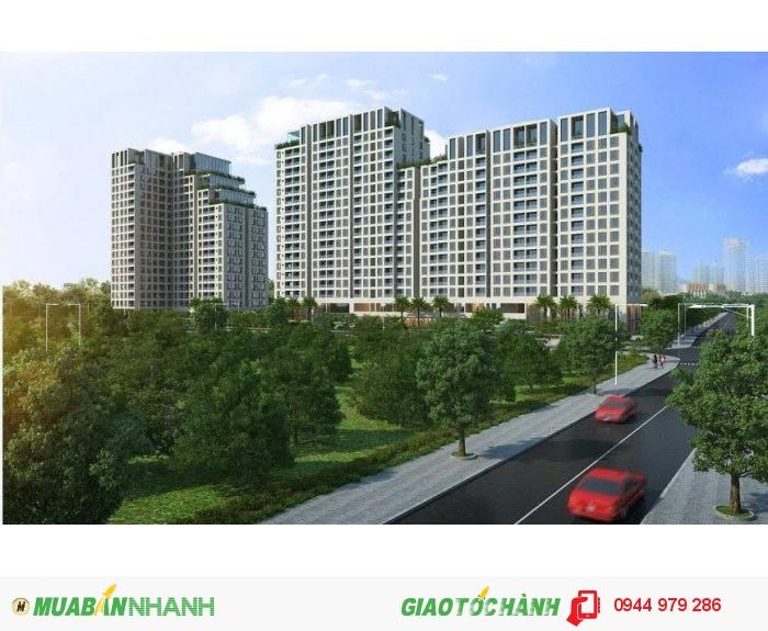 Căn hộ Opal riverside mặt tiền Phạm Văn Đồng chỉ 1.6 tỷ / 2pN