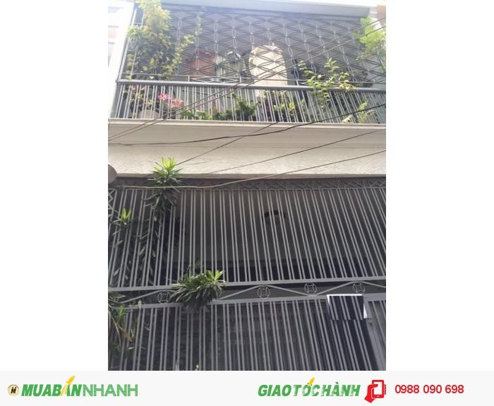 Bán nhà hẽm 4m Phan Đình Phùng,P1,Phú Nhuận.DT 3,9x16,8m(NH 4,2m)