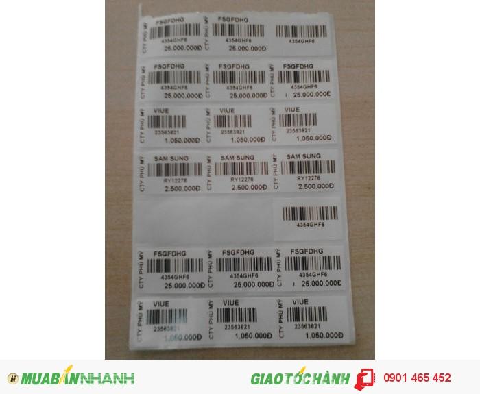 Máy in tem mã vạch dùng cho cửa hàng mỹ phẩm tại củ chi1