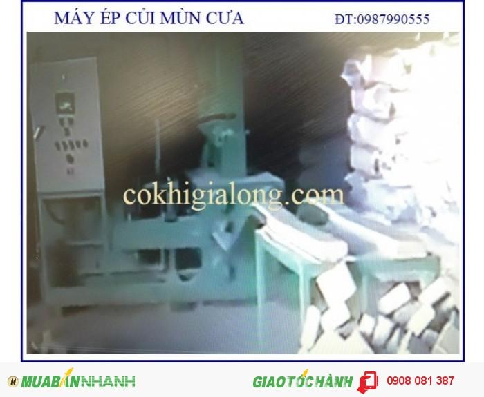 Máy ép mùn cưa sản xuất tại tphcm2